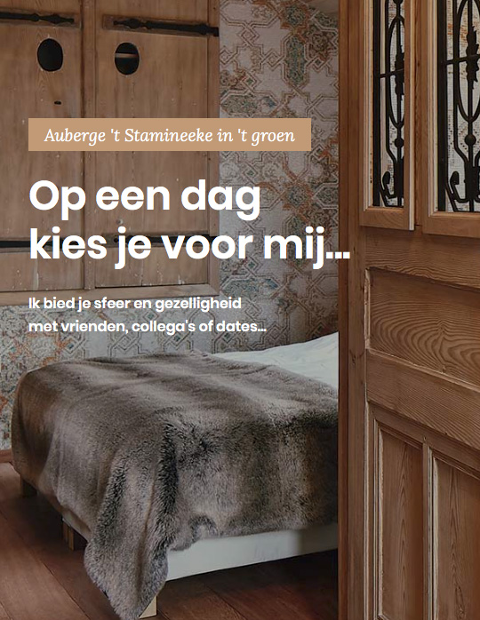 bed and breakfast hippolytushoef